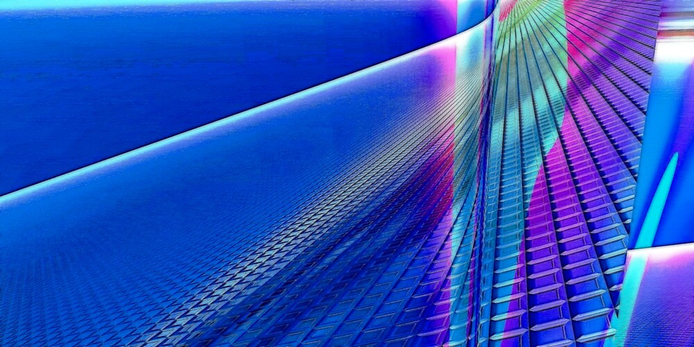 Blue Hues by Benedikt Amrhein