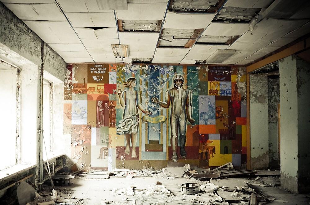 Space Age Dreams ~ Pripyat  by Josephine Pugh