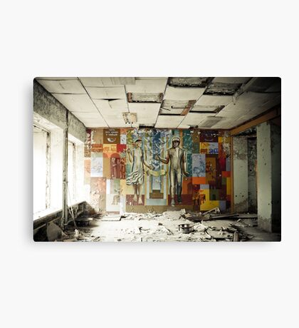 Space Age Dreams ~ Pripyat  Canvas Print