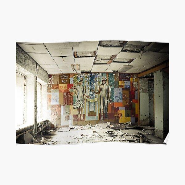 Space Age Dreams ~ Pripyat  Poster