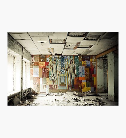 Space Age Dreams ~ Pripyat  Photographic Print