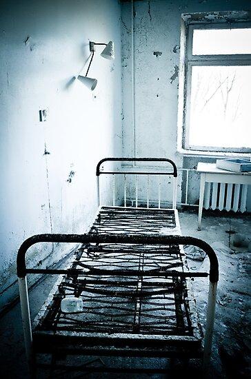 Bed Rest ~ Pripyat  by Josephine Pugh