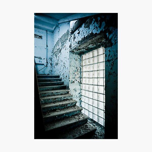 Blue Ascent ~ Pripyat  Photographic Print