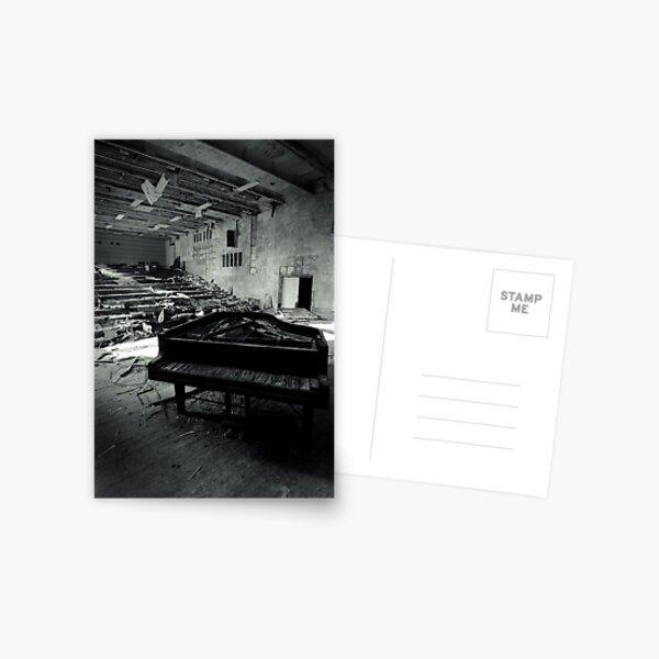 Piano ~ Pripyat  Postcard