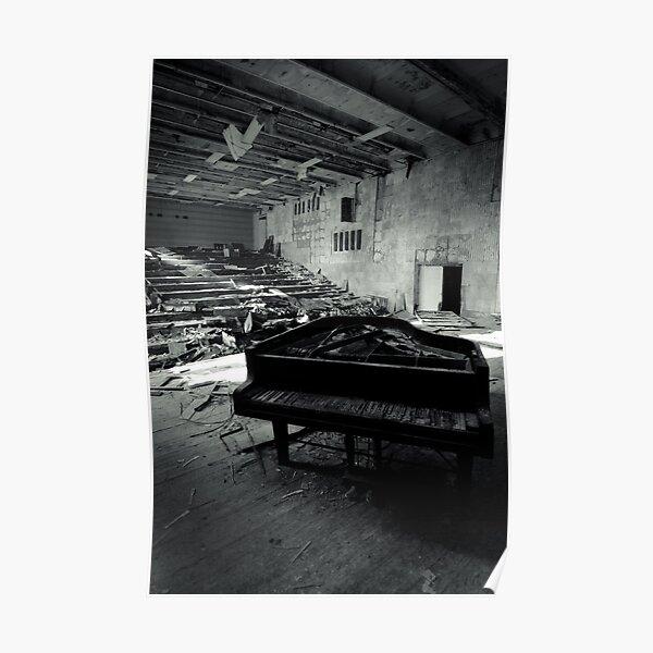 Piano ~ Pripyat  Poster
