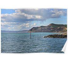 Around West Bay , Dorset Poster