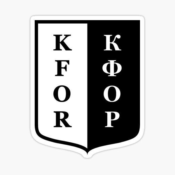 KFOR Sticker