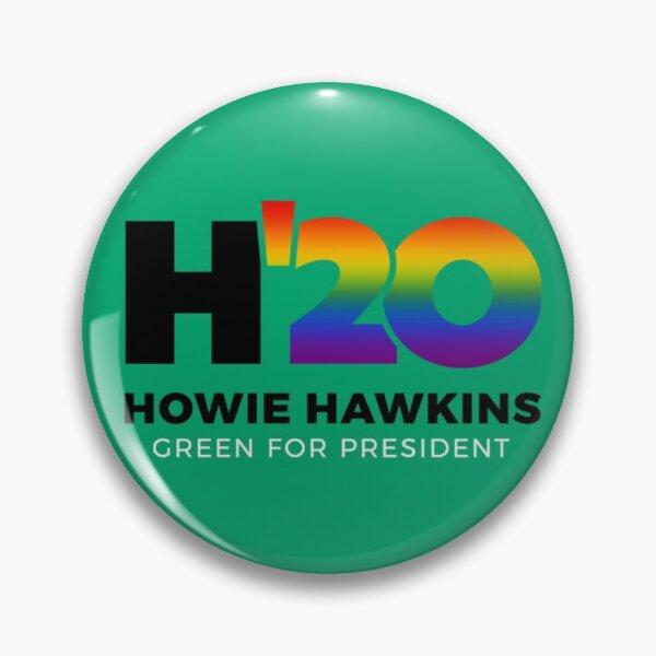 Howie Hawkins for President 2020 Pride Pin