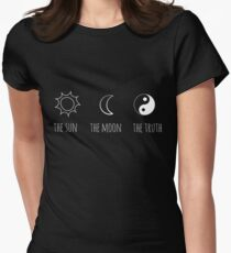 The Sun, The Moon, The Truth Women's Fitted T-Shirt