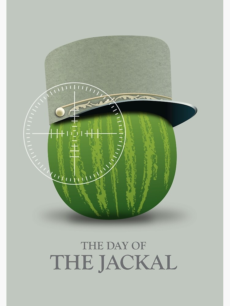 The Day of the Jackal - Alternative Movie Poster by MoviePosterBoy