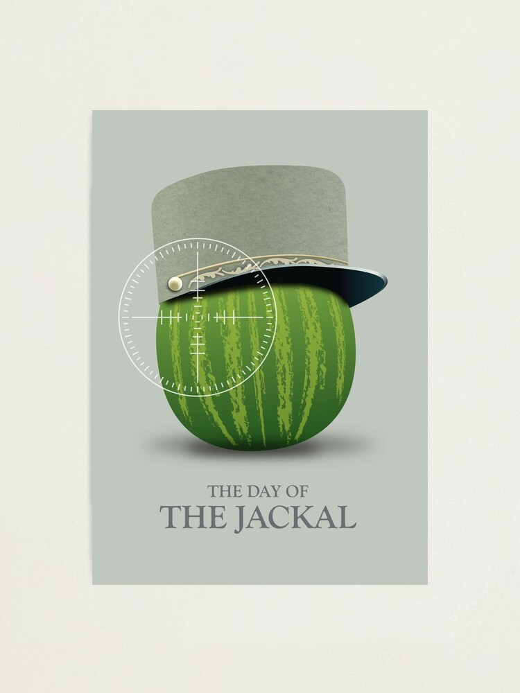 Alternate view of The Day of the Jackal - Alternative Movie Poster Photographic Print
