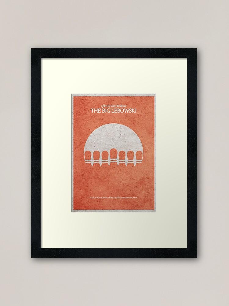 Alternate view of The Big Lebowski Framed Art Print