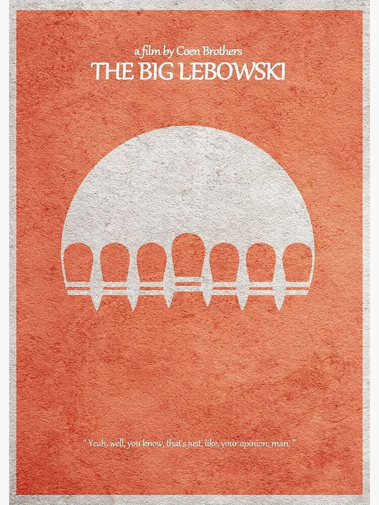 The Big Lebowski by geekmywall
