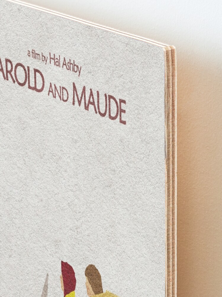 Alternate view of Harold and Maude Mounted Print