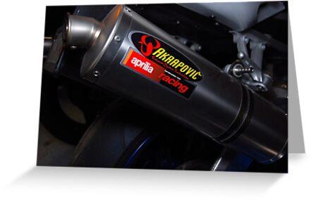 Tuono 1000 Exhaust by John Schneider