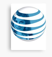 The AT&T of People Metal Print