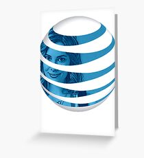 The AT&T of People Greeting Card