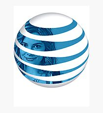 The AT&T of People Photographic Print