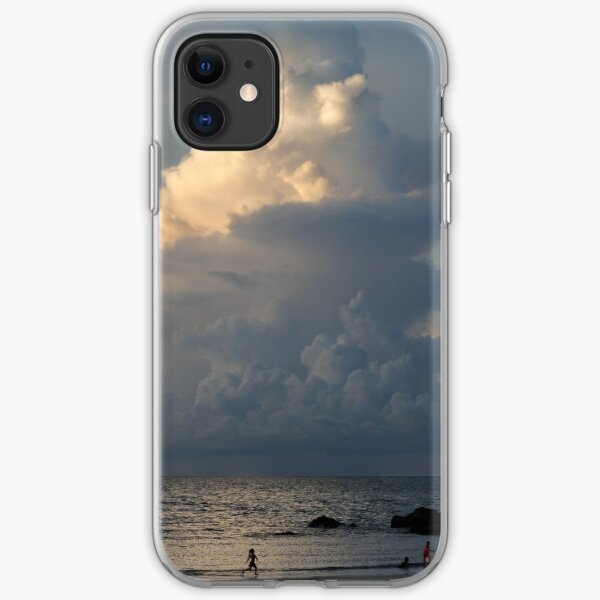 Towering cumulonimbus cloud at sunset in Malaysia iPhone Soft Case