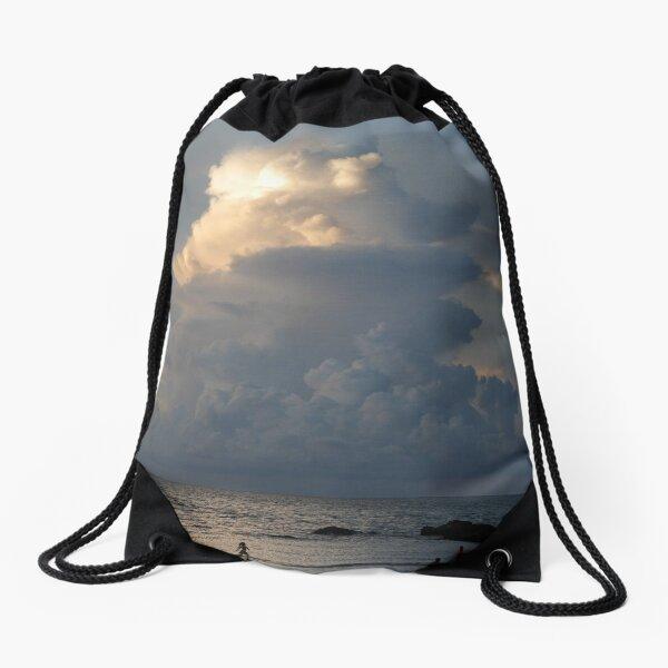 Towering cumulonimbus cloud at sunset in Malaysia Drawstring Bag