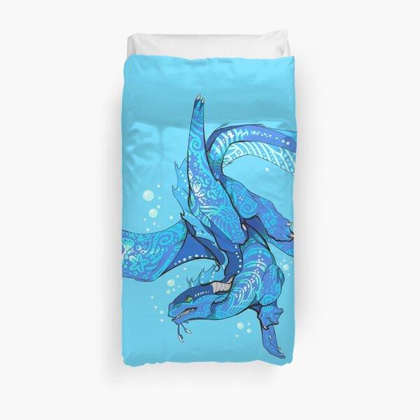 3D Rose Wonderful Marlin in A Fantasy Underwater World Quilt 10 x 10