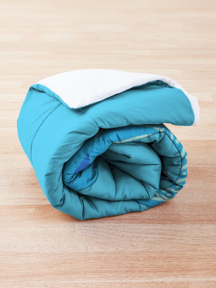 Alternate view of Tsunami Swimming Comforter