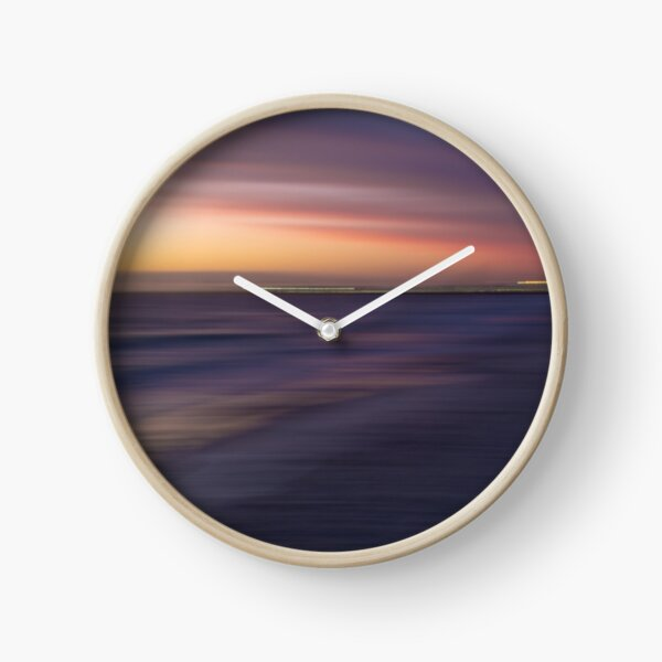 AFTER THE SUN SETS Clock