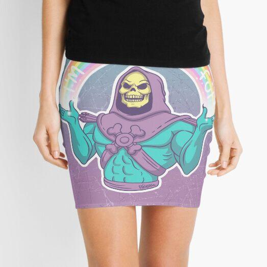 Skeletor - I'm so powerful Mini Skirt