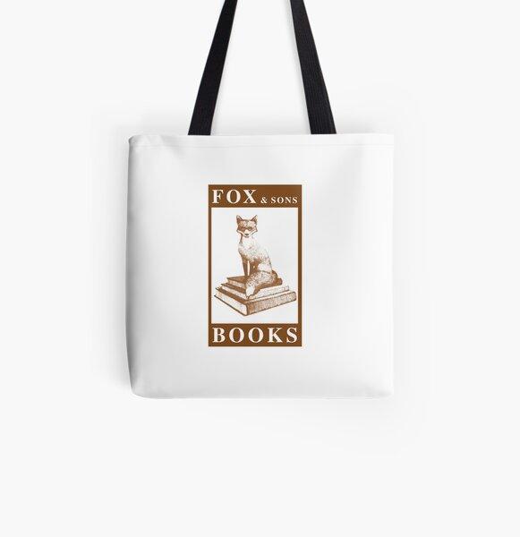 Libros de Fox & Sons Bolsa estampada de tela
