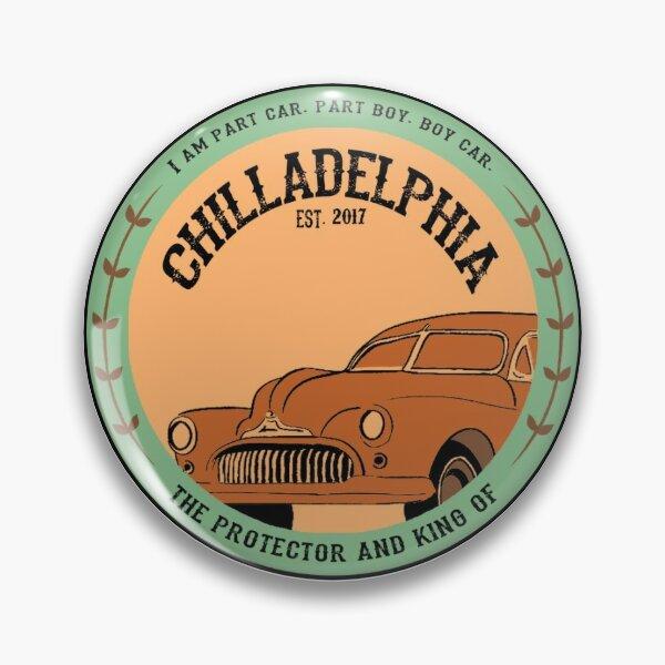 Chilladelphia - Travel destination sticker MBMBaM Pin