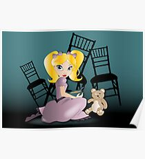 Twisted Tales - Goldilocks Tee and iPhone Case Poster