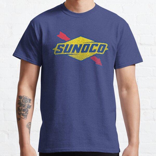 Sunoco Oil Logo in Seifenblasen gewaschen Classic T-Shirt