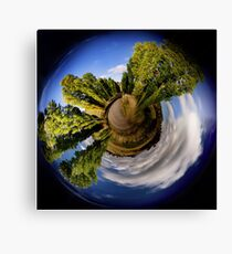 Poplar Planet Canvas Print
