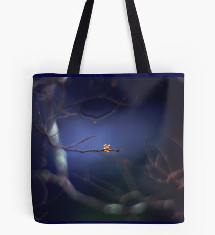 The mysterious little bud Tote Bag