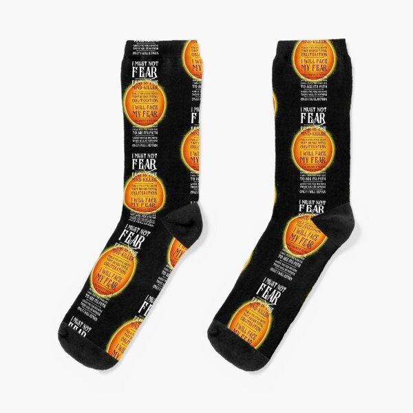 Litany Against Fear v3 Socks