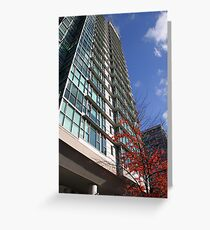 High Rise, Downtown Vancouver Greeting Card