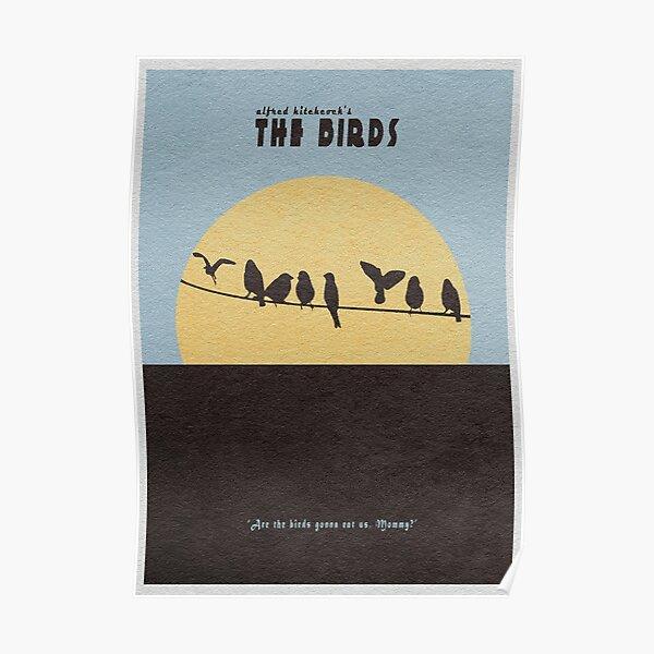 Les oiseaux Poster