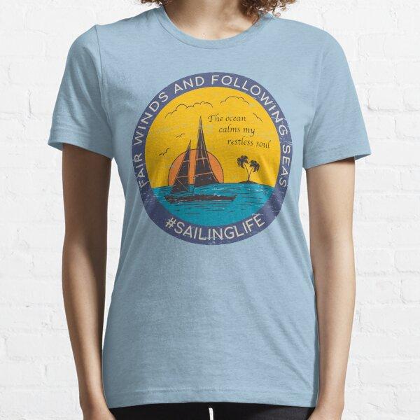 SAILINGLIFE - Fair Winds Essential T-Shirt