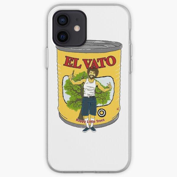 El Vato - Happy Little Trees iPhone Soft Case
