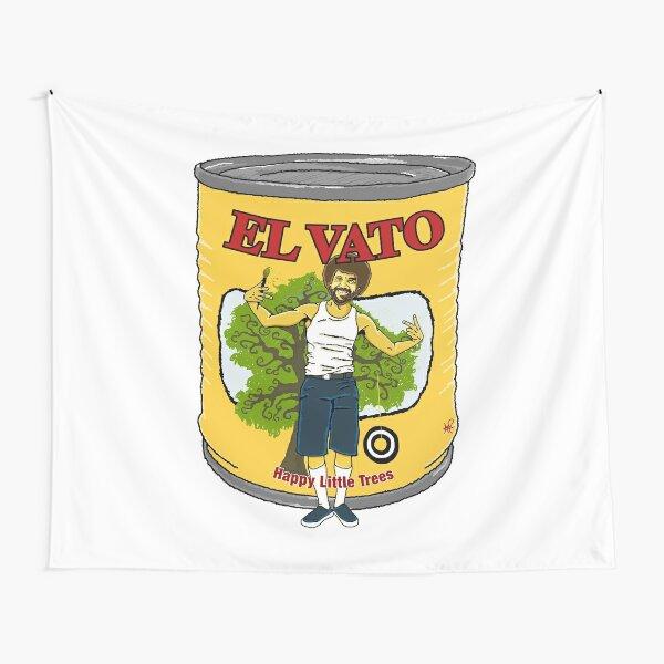 El Vato - Happy Little Trees Tapestry