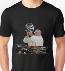DJ Earth Pope Francis, EDM Holy Father Unisex T-Shirt