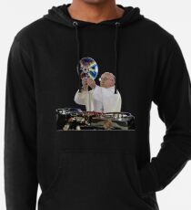 DJ Earth Pope Francis, EDM Holy Father Lightweight Hoodie