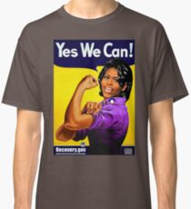Recovery.gov Michelle Obama as Rosie The Riveter Classic T-Shirt