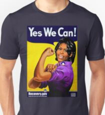 Recovery.gov Michelle Obama as Rosie The Riveter T-Shirt