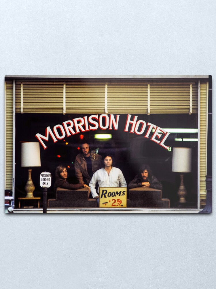 Alternate view of Morrison Hotel (HQ) Metal Print