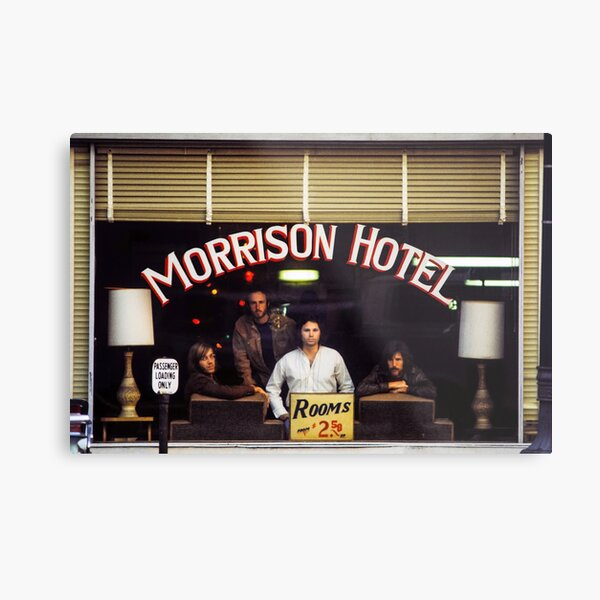 Morrison Hotel (HQ) Metal Print