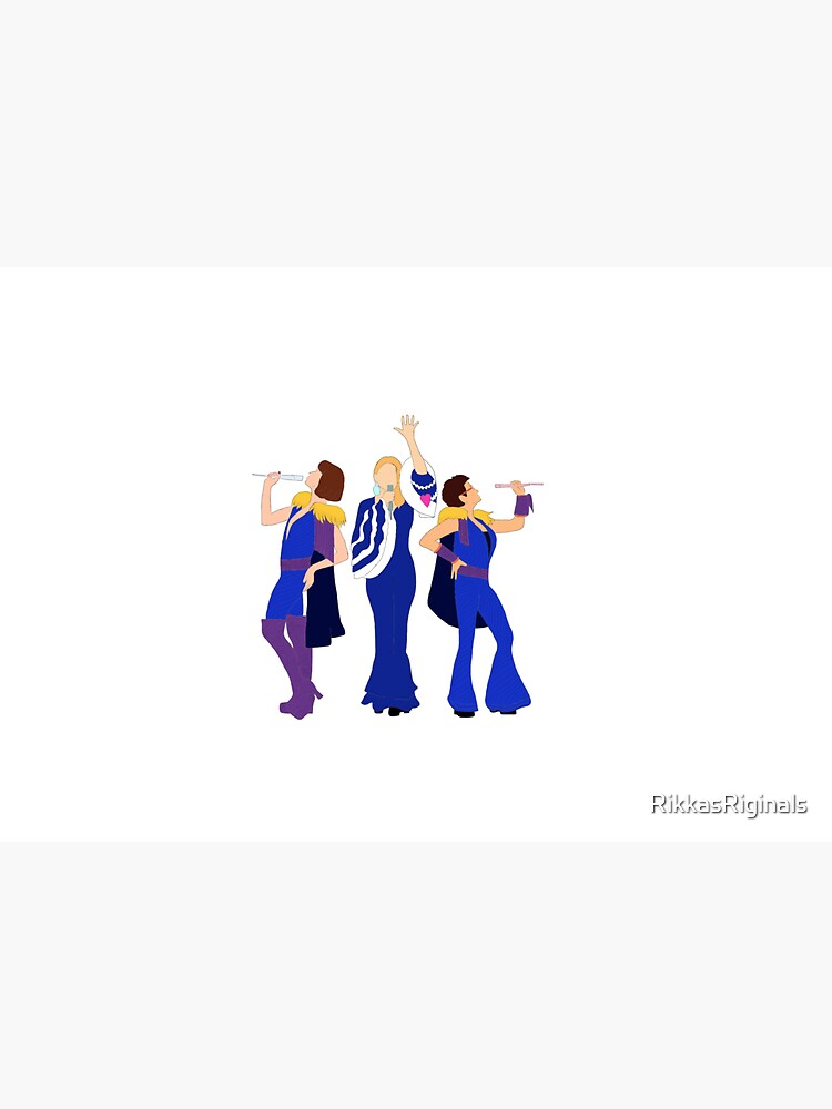 Donna and the Dynamos - Mamma Mia by RikkasRiginals