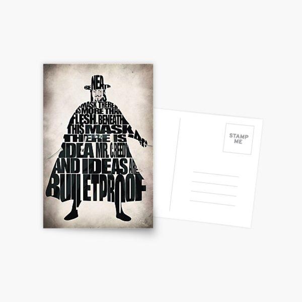 V for Vendetta Postcard