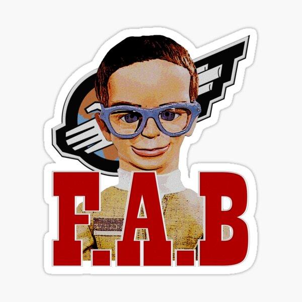 F.A.B BRAINS Sticker