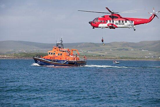 RNLI & Coast Guard Demo by AlanJLanders